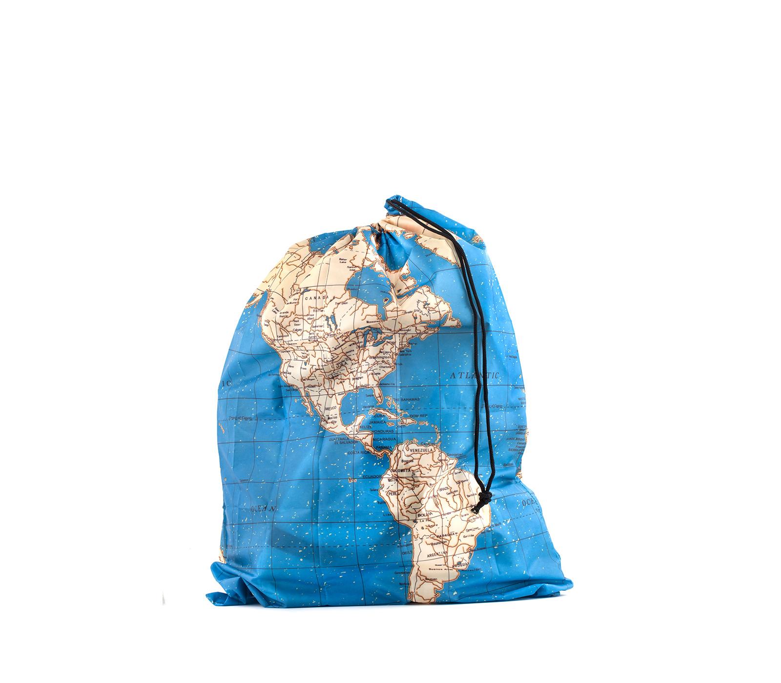 Kikkerland Around The World Travel Bag Set