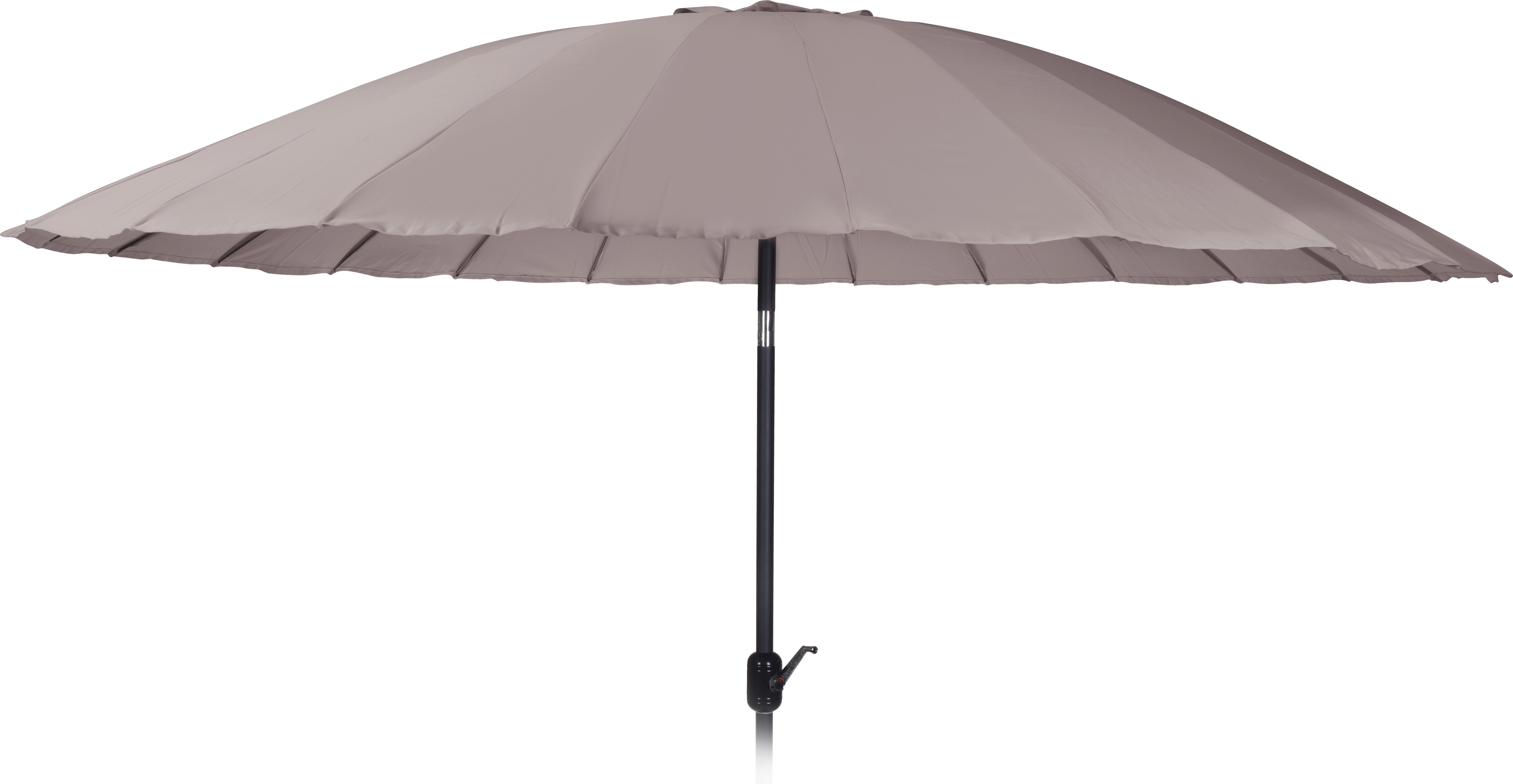 Ambiance Parasol Shanghai 325cm Taupe