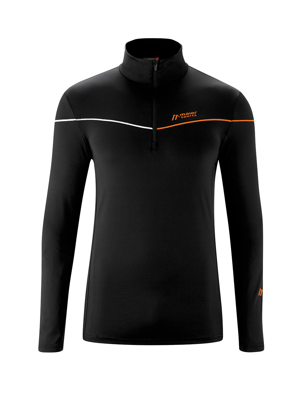 Maier Sports Nago 2.0 Korteritsfleece Heren