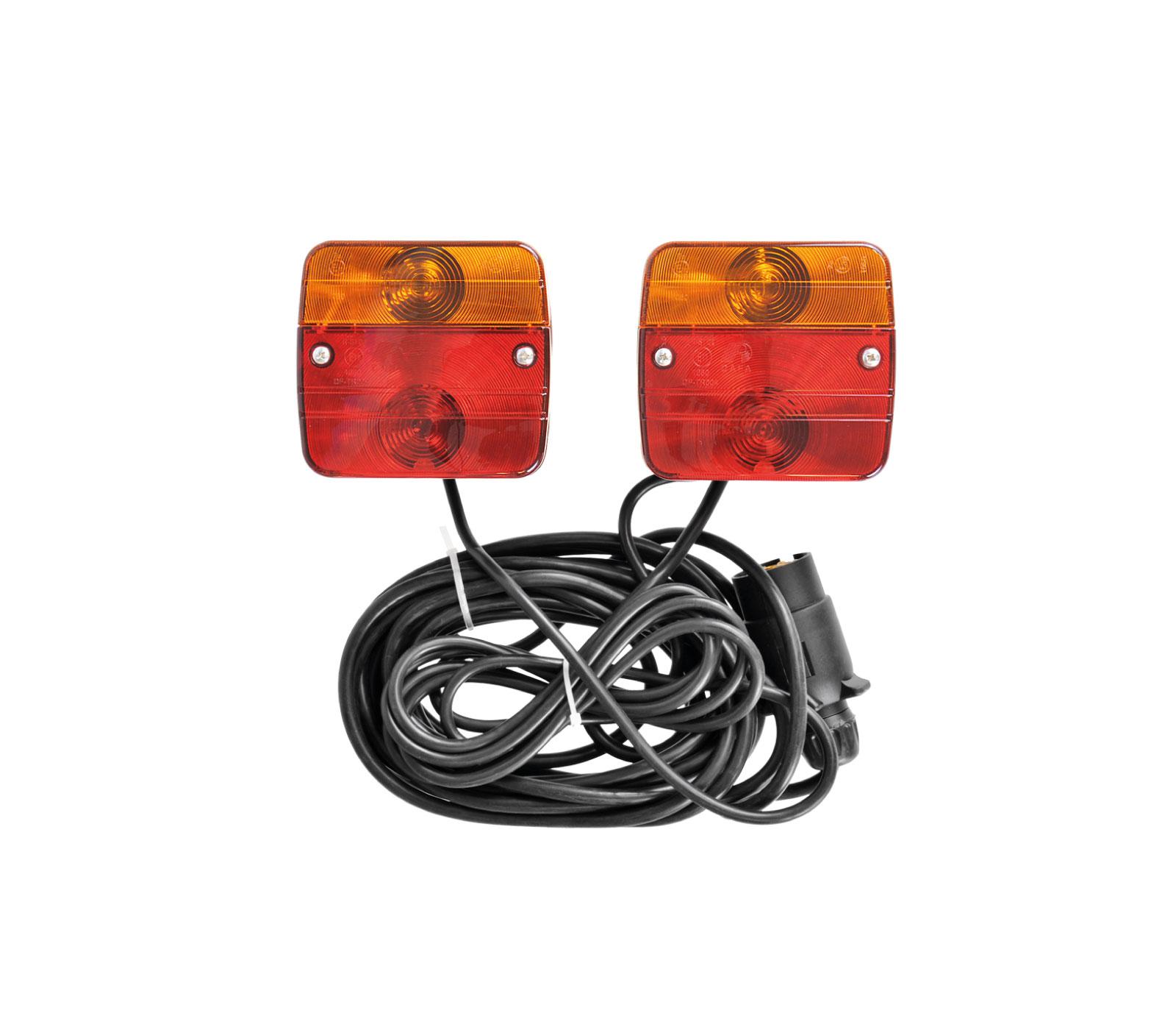 Pro Plus Aanhangerverlichtingsset Magneten