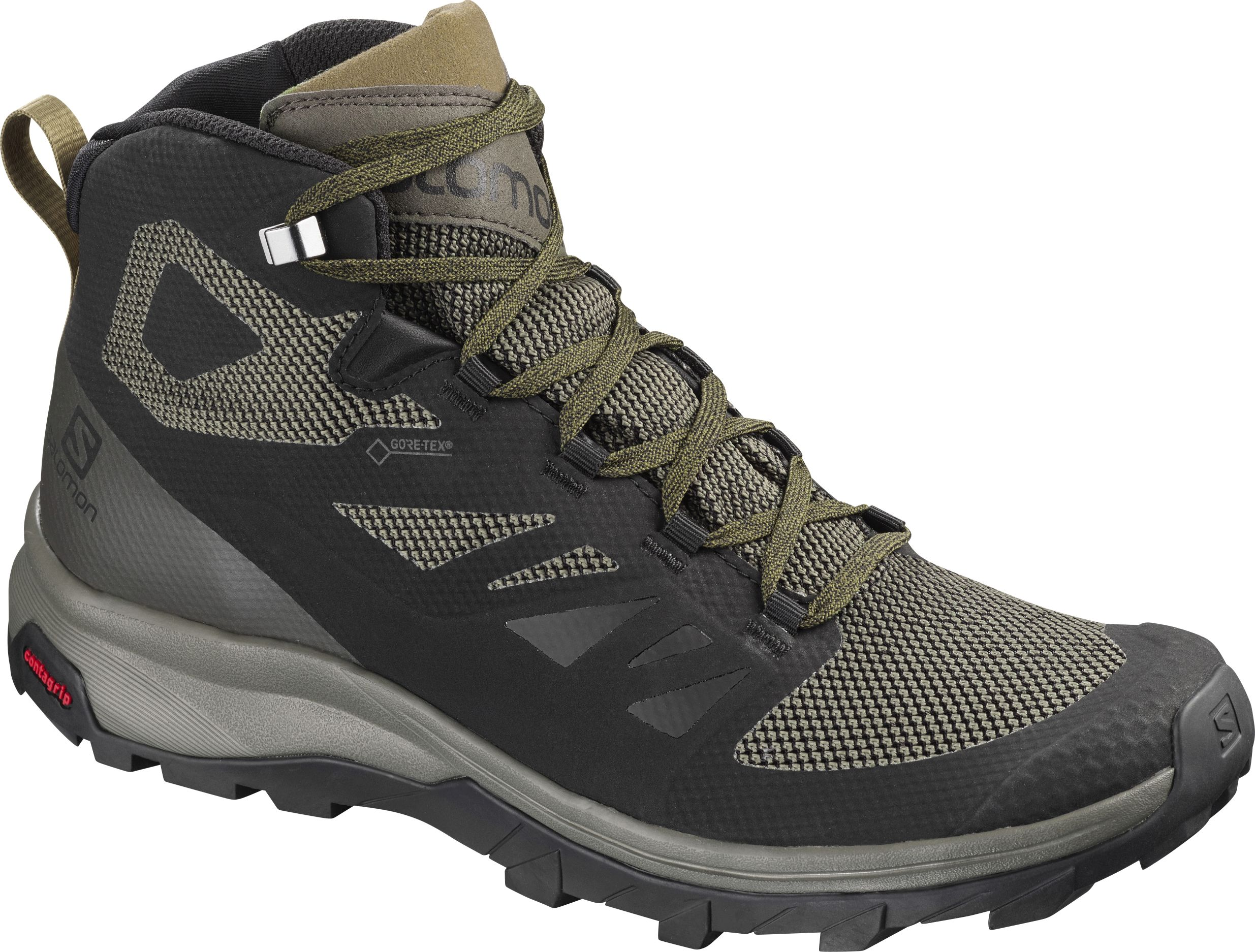 Salomon Outline Mid Gtx Heren Wandelschoenen