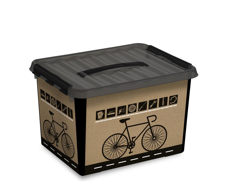 Sunware Fiets Box 22l Inzet