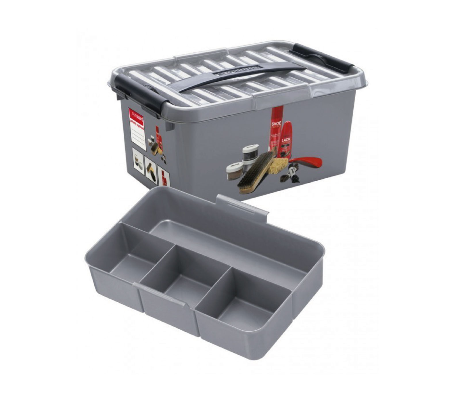 Sunware Q-line Shoepolish Box