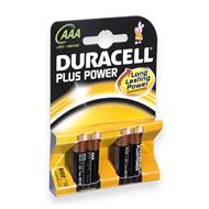 Duracell AAA Plus Power Alkaline Batterij