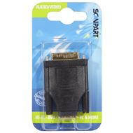 Scanpart Adapter HDMI(F)-DVI-D(M)