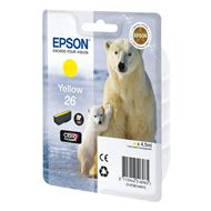 Epson Cartridge 26 (T2614) Geel