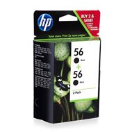 HP 56 2-Pack Black