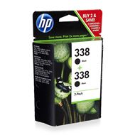 HP 338 2-Pack Black