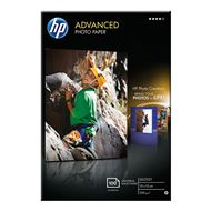 HP Advanced Glossy Fotopapier 250 gram 10x15 zonder rand
