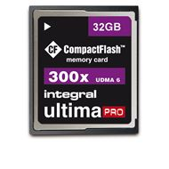 Integral Compactflash Card 300x 32Gb