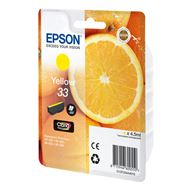 Epson Cartridge 33 (T3344) Geel