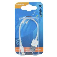 Scanpart Laad+Datakabel Apple Lightning 15cm