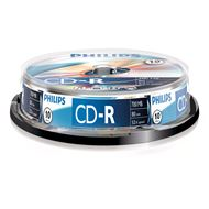 Philips Cd-R 700Mb 52Xspeed Spindle 10 Stuks
