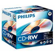 CD-RW 80 10pcs. Jewelcase