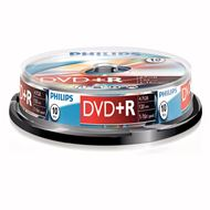 Philips Dvd+R 4,7Gb 16Xspeed Spindle 10 Stuks