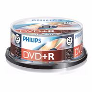 Philips Dvd+R 4,7Gb 16Xspeed Spindle 25 Stuks