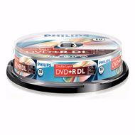 Philips DVD+R 8.5 GB overschrijfbare DVD