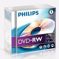 Philips DVD-R 4.7 GB overschrijfbare DVD