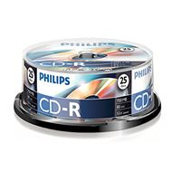 Philips Cd-R 700Mb 52Xspeed Spindle 25 Stuks