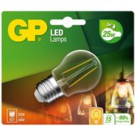 Gp Led Lamp E27 2,1W 250Lm Kogel Filament