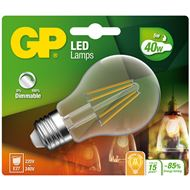 Gp Led Lamp E27 5W 470Lm Classic Filament Dimbaar