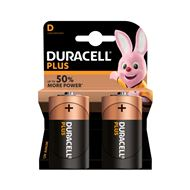Duracell D Plus Power Alkaline Batterij
