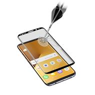 Cellular Line Beeldschermbeveiliging Glas Galaxy S8+ Ultra Curved