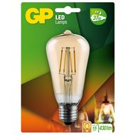 GP LED Lamp Vintage Gold ST64 4W E27