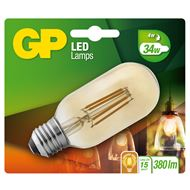 GP LED Lamp Filament Vintage Gold T45 4W E27