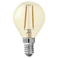 GP Filament-LED Lamp Vintage Gold Mini-Kogel 1,2W E14