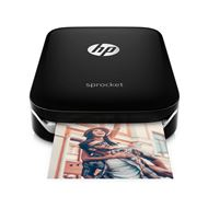 HP Sprocket Photo Printer ZINK (Zero ink) 313 x 400DPI Zwart fotoprinter