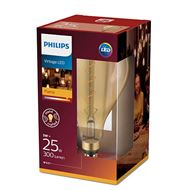 Philips XXL LED Lamp Flame Helder E27 5Watt 300Lm A165