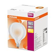 Osram ledlamp E27 11W Globe95 filament mat 4058075808515 Warm wit
