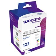 weCare Brother LC-123 Multipack