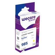 weCare Cartridge Brother LC985 Geel
