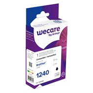 weCare Cartridge Brother LC1240 Zwart