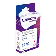 weCare Cartridge Brother LC1240 Rood