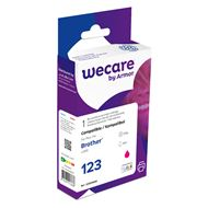 Wecare WEC 1569 Brother lc-123 rood