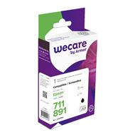 weCare Cartridge Epson T071140 Zwart