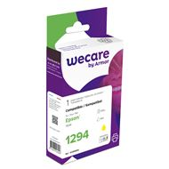 weCare Cartridge Epson T129440 Geel