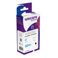 weCare Cartridge HP 301XL Zwart