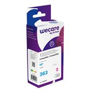 weCare Cartridge compatible met HP 363 Lichtrood