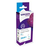 weCare Cartridge compatible met HP 364 XL Blauw