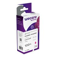 weCare Cartridge Lexmark 100XL Rood Combipack