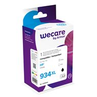 weCare Cartridge compatible met HP 934 XL Zwart