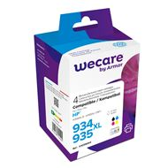 weCare Cartridge compatible met HP 934/935 XL Combipack