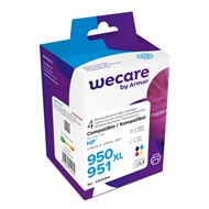 weCare Cartridge compatible met HP 950/951XL Combipack