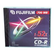 Fuji CD-R 700Mb 52x data 10xjewel  16305, 47384