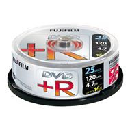 Fuji DVD+R 4.7Gb 8x 25xspindle +sleeves  17074, 46250, 47493
