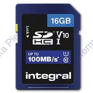 Integral Secure Digital kaart 16GB SDHC V10